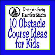 Kids Obstacle Course On Pinterest Obstacle Course Kids Obstacle Course Party And Obstacle Course