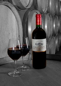 Château CANTENAC Wine Types, Wine Vineyards, Different Wines, St Emilion, In Vino Veritas, Wine Cheese, Fine Wine, Red Wine, Alcoholic Drinks