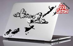 Peter Pan Moonlight Disney Macbook Air Pro by FunDecalFactory
