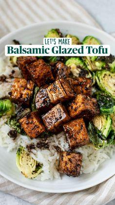 Tasty Vegetarian Recipes, Vegan Dinner Recipes, Vegan Recipes Easy, Veggie Recipes, Whole Food Recipes, Coconut Tofu Recipes, Healthy Organic Recipes, Recipes With Tofu, Cooking Recipes