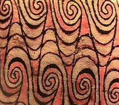 Bark cloth, Lake Sentani, New Guinea