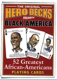 Black America Card Deck
