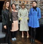 Anna Wintour, diretora artística da Condé Nast, editora chefe da Vogue americana e um dos maiores nomes da moda no mundo, durante seus dias na capital britânica, sua terra natal, para a Semana de Moda de Londres, esteve na estreia [...]