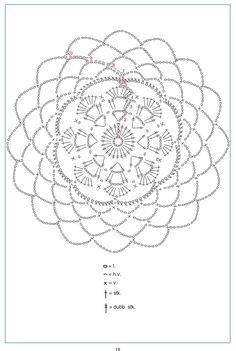 Mandala patron We are want to say thanks if you like to sh Crochet Diagram, Crochet Chart, Crochet Motif, Irish Crochet, Diy Crochet, Crochet Doilies, Crochet Stitches, Dream Catcher Pink, Feather Dream Catcher