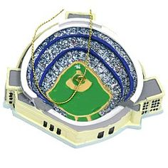 "NYCwebStore.com - Yankees Stadium Ornament, $12.99 (http://www.nycwebstore.com/yankees-stadium-ornament/) New York Yankees Stadium Ornament The perfect gift for your #1 fan, our New York Yankees Yankee Stadium Ornament makes a great addition to the tree. Featuring a layout of Yankee Stadium including the field and stands. Measures 3""L x 3.25""W x 1""H"