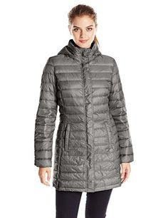 32Degrees Weatherproof Women's Mid Length Packable Down Jacket >>> Continue to the item at the image link.