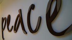 Dekobuchstaben von PAULSBECK Buchstaben, Dekoration & Geschenke auf DaWanda.com