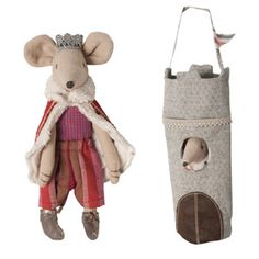J'adore !   King mouse and tower - by Maileg