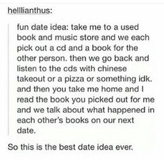 I WANT TO DO THIS W/ SOMEONE