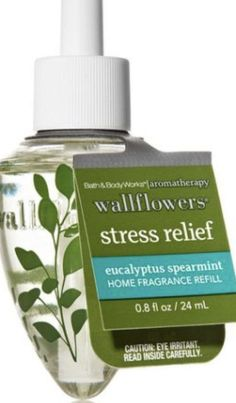 Bath & Body Works Stress Relief Wallflower Refill