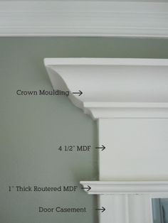 Window Trim Detail – already got all the molding I need to do a similiar look (on 3 windows and 1 door) for only $5 from Craigslist. Score!  | followpics.co