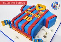 Barcelona Cake - Torta camiseta del Barcelona
