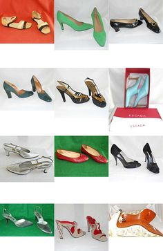 Vintage couture and designers shoes #shoe for sale, over 200 all size and color http://www.ebay.com/sch/m.html?_odkw=&_sop=10&_ssn=haillais&_armrs=1&_osacat=0&_ipg=25&_from=R40&_trksid=p2046732.m570.l1313.TR12.TRC2.A0.H0.Xshoe.TRS0&_nkw=shoe&_sacat=0