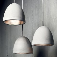 Cemento Pendant Lamp M by CR Collection