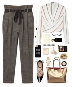 """""""Work hard play hard"""" by celida-loves-pink ❤ liked on Polyvore featuring MANGO, Kate Spade, Casetify, Jouer, Isabel Marant, Movado, Oscar de la Renta, Clive Christian, Eddie Borgo and Juicy Couture"""