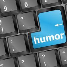 toetsenbord met humor woord