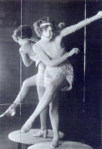 Bee Jackson dancing the Charleston at the Piccadilly Hotel Cabaret, London, 1925.
