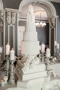 For those with a sweet tooth, selecting the perfect wedding cake for one's wedding can prove to be one of the favorite aspects of the wedding planning process. Wedding Cake Centerpieces, Black Wedding Cakes, Amazing Wedding Cakes, Elegant Wedding Cakes, Elegant Cakes, Fresh Flower Cake, Flower Cakes, Ethereal Wedding, Cake Trends