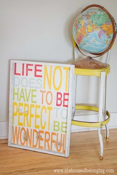 Megs Wonderful Sign by TheHouseofBelonging on Etsy, $75.00