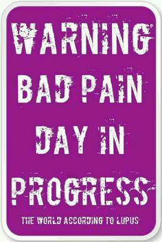 WARNING BAD PAIN DAY IN PROGRESS.