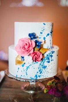 Chic wedding cake idea; photo; Best Photography