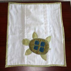 Turtle Burp Cloth