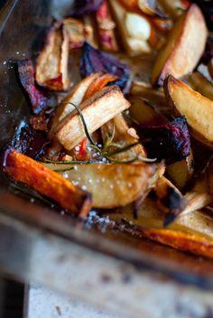 Dine & Dash: warzywa pieczone z rozmarynem