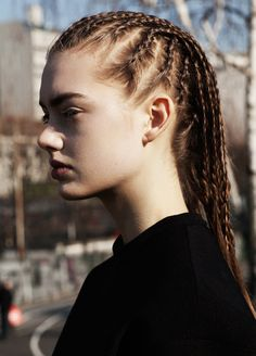 corn rows #hair #braids