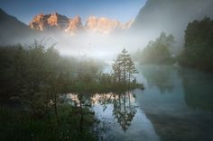 Mystical morning on the lake __Italy by Daniel Řeřicha on 500px