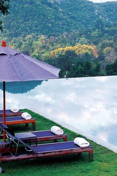 This infinity pool overlooks a mountain landscape. Veranda High Resort Chiang Mai - M Gallery by Sofitel (Hang Dong, Thailand) - Jetsetter