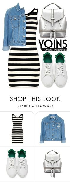 """Yoins"" by oshint ❤ liked on Polyvore featuring Topshop, yoins, yoinscollection and loveyoins"