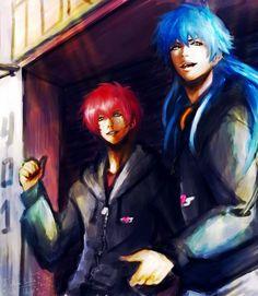 Morphine Mizuki and Sly - DRAMAtical Murder - by KiraiRei.deviantart.com on @DeviantArt