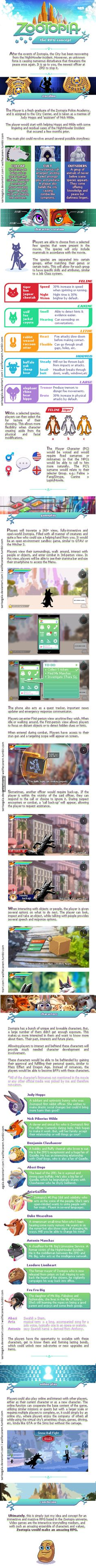 If Zootopia was an RPG. - 9GAG OMG GIVE IT TO ME NOW!!!!! SOME ONE SEND THIS TO DISNEY!!!!