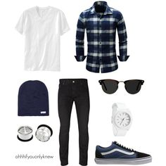 Untitled #238 by ohhhifyouonlyknew on Polyvore featuring Nixon, Neff, Old Navy, Jack & Jones, Ace and Vans