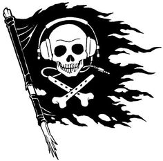 SKULL.....FLAG.....PARTAGE OF RENÉ PASSERA ....ON FACEBOOK....