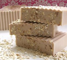 Almond Honey Oatmeal Soap with 4 moisturizing by EpicallyEpicSoap, $4.50