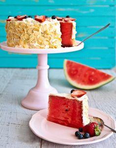 Cake of the Day: Gluten-Free Watermelon 'Cake'