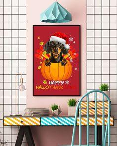 Happy HalloThankSmas Dachshund Dog Lover Gift Vintage Funny - True Red lps dachshund, dachshund gifts, dachshund memes #dachshundsdaily #DachshundsAsEverything #dachshundsarethebest Lps Dachshund, Dachshund Gifts, Dog Lover Gifts, Dog Lovers, Funny Dachshund Pictures, Vintage Humor, True Red, Happy, Dogs