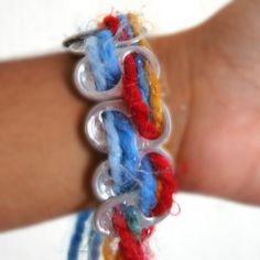 Wool can pull tab bracelet Accessories