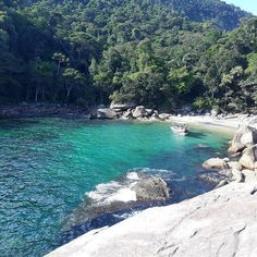 17 beaches between São Paulo and Rio de Janeiro that leave the Caribbean in the slipper Travel And Tourism, Travel And Leisure, Travel Tips, Travel Pictures, Exotic, River, Island, Beach, Places