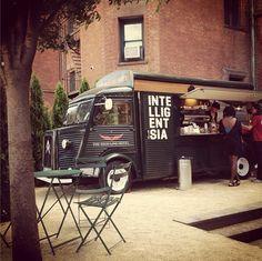 NYC - High Line Hotel x Intelligentsia Coffee Truck