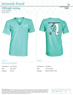 Universitytees.com > Order your items for Delta Zeta Mother's Day project