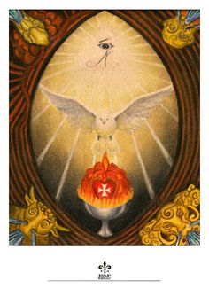 Let the divine descend on you as gentle as a dove.