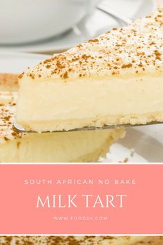 Easy no-bake milk tart - Mika - Easy no-bake milk tart no bake milk tart, braai nagereg, south african recipes - South African Desserts, South African Dishes, South African Recipes, South African Braai, Africa Recipes, Just Desserts, Delicious Desserts, Dessert Recipes, Yummy Food