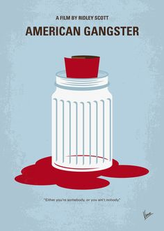 American Gangster (2007) ~ Minimal Movie Poster by Chungkong #amusementphile