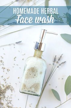 Homemade Face Wash: Natural Herbal Recipe Homemade face wash combines simple, natural ingredients to make a gentle and effective homemade face cleanser. DIY face wash is the perfect recipe for a beginner wanting to start making their own natural products. Homemade Face Cleanser, Homemade Face Wash, Homemade Skin Care, Homemade Scrub, Homemade Beauty, Natural Face Wash, Natural Skin Care, Natural Beauty, Spot Light