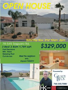 Come and see this amazing home in established La Quinta community. It is guaranteed to please. Bring the family and invite your friends to this trusted neighborhood. Close to schools and houses of worship. It is a community to belong to. Nicely appointed. Step out to the backyard and prepare to refresh yourself on those hot afternoons or even a midnight dip in the pool. Present your offers quickly it is sure not to last.