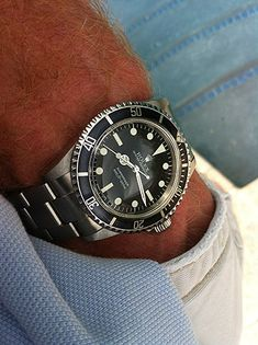 Rolex Vintage Submariner Ref Production Years 1966 - Best Watches For Men, Luxury Watches For Men, Cool Watches, Rolex Watches, Simple Watches, Rolex Vintage, Vintage Watches, Retro Watches, Rolex Presidential