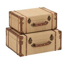 Deco 79 Wood Burlap Suitcase, 17 and 15-Inch, Set of 2 De... https://www.amazon.com/dp/B009D4WPEI/ref=cm_sw_r_pi_dp_x_LvpNyb6GFGKDW