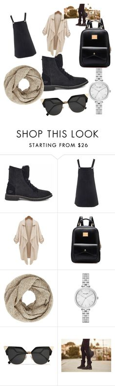 """""""The New Classics With UGG: Contest Entry"""" by dantoinette2121 ❤ liked on Polyvore featuring UGG, Topshop, John Lewis, Kate Spade, Fendi and ugg"""